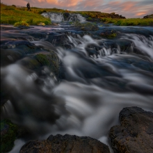 Dunseverick Waterfall I