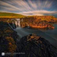 Dunseverick Waterfall III