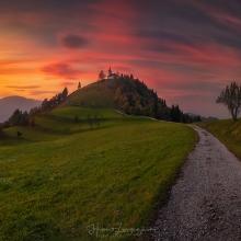 The Sv. Jakob Hill
